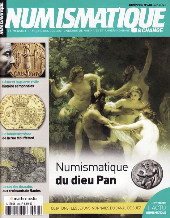 Numismatique et Change Magazine, numero 448 juin 2013