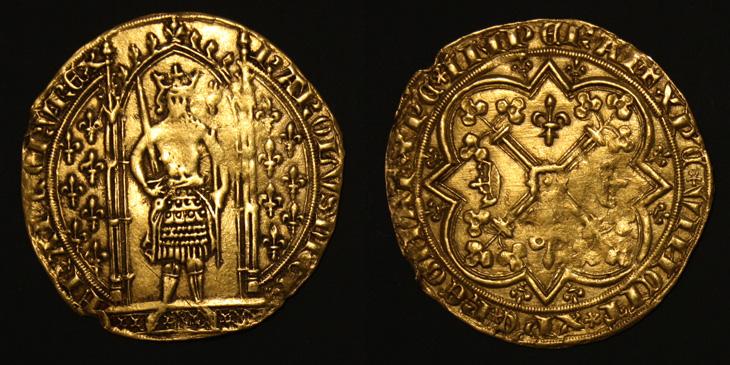 Franc à pied de Charles V (1364-1380)