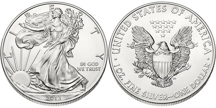 American Silver Eagle 2013