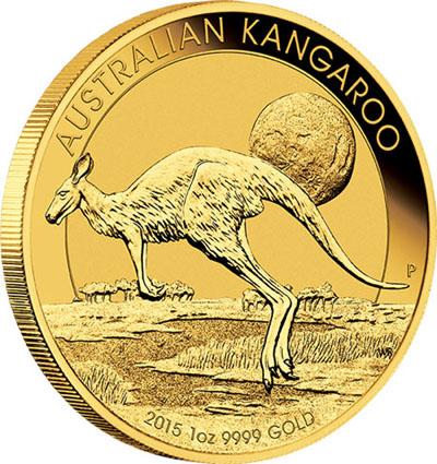Piece or Kangourou Australie 2015