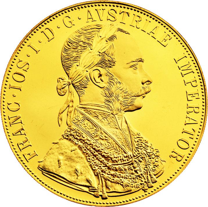 4 ducats d'or Autriche avers
