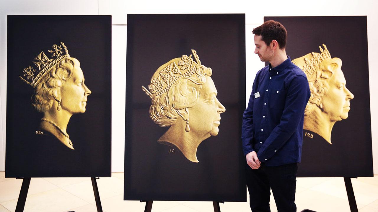 Le dessin des pièces est l'oeuvre de Jody Clark, graveur de la Monnaie Royale d'Angleterre