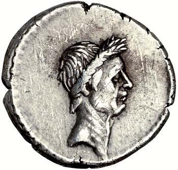 Portrait de Jules César (100-44 avant JC)