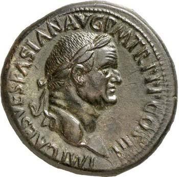 Portrait de Vespasien (69-79 après JC)