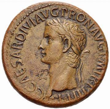 Portrait de Caligula (37-41 après JC)