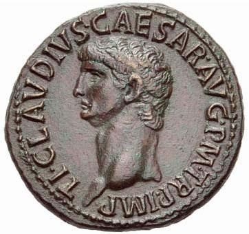 Portrait de Claude (41-54 après JC)