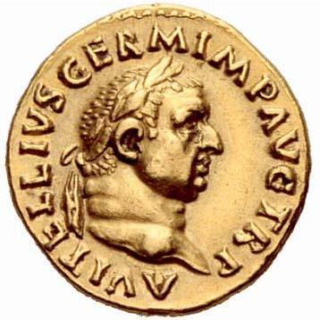 Portrait de Vitellius (68-69 après JC)