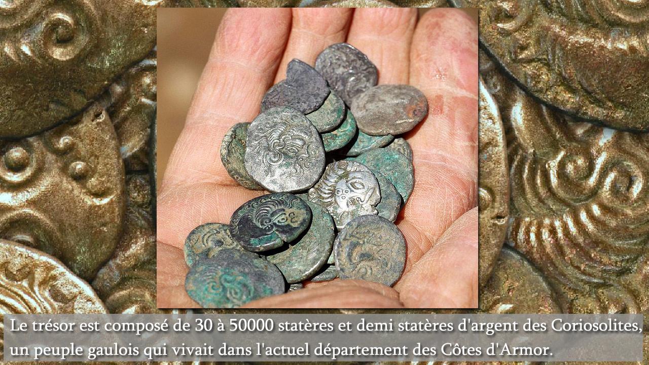 Photo de pièces du trésor