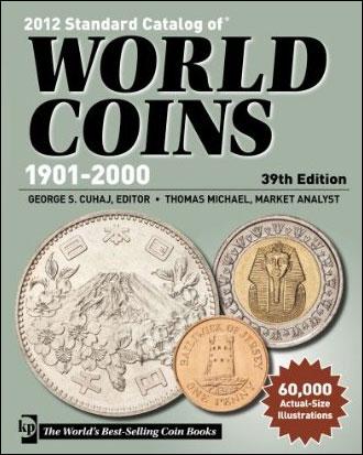 Couverture du Standard Catalog of World Coins 1901-2000, édition 2012