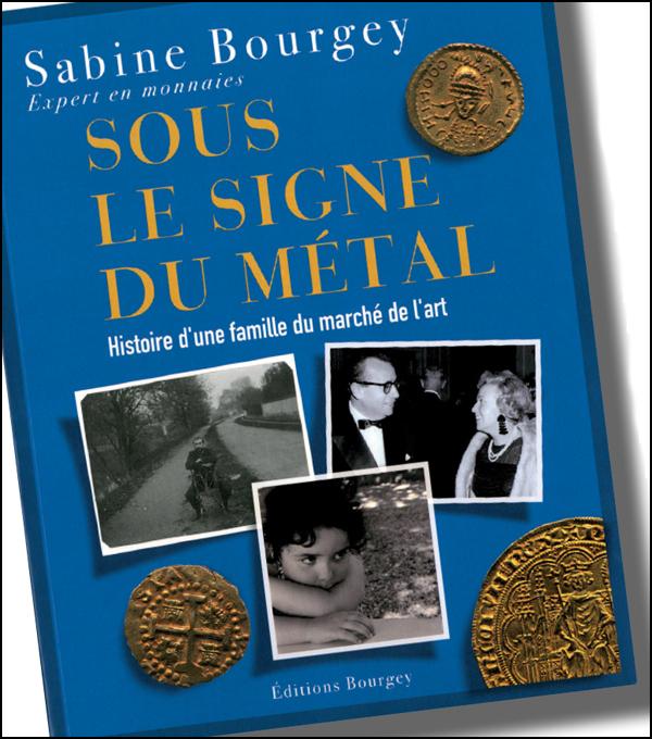 Courverture du livre de Sabine Bourgey, experte en monnaies de collection