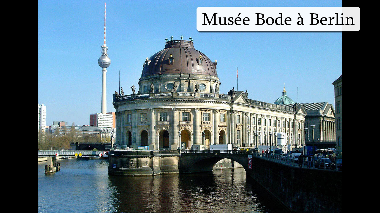 Photo du Musée Bode à Berlin