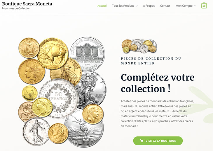 Boutique Numismatique Sacra Moneta