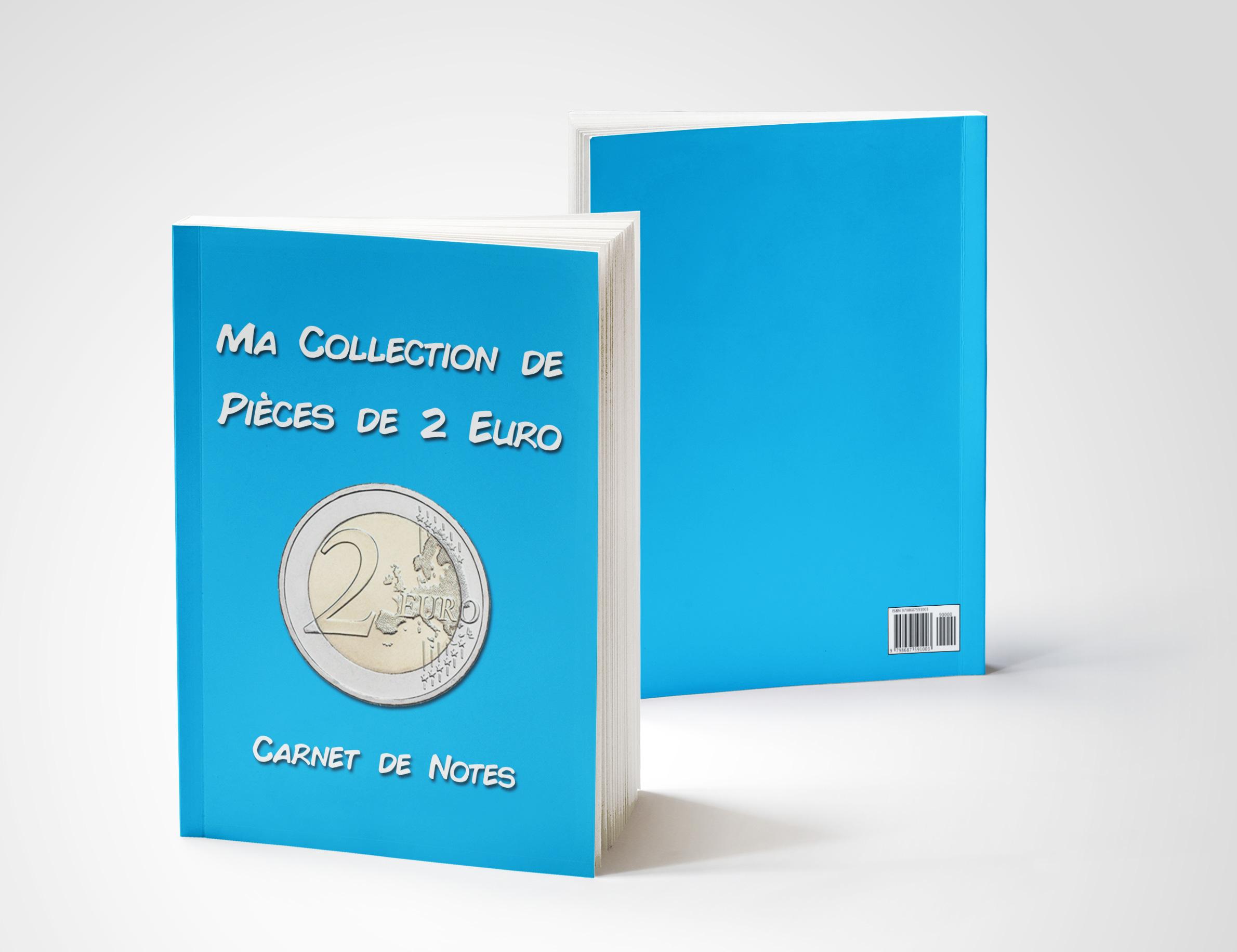 Image de la couverture du Carnet de Notes pour pièces de 2 euro