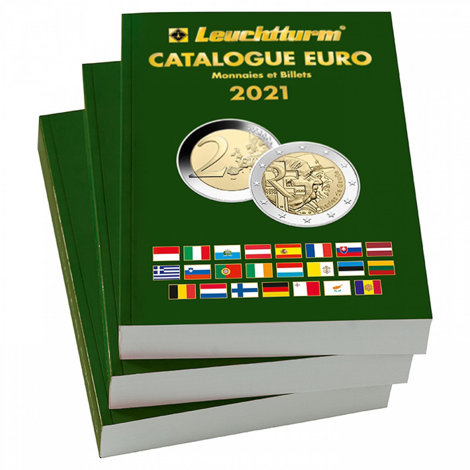 Catalogue des euro de collection édition de 2021 Leuchtturm
