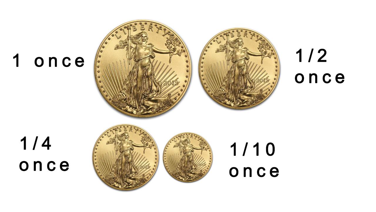 Des pièces d'or plus petites que l'once pour permettre aux investisseurs modestes d'acheter de l'or