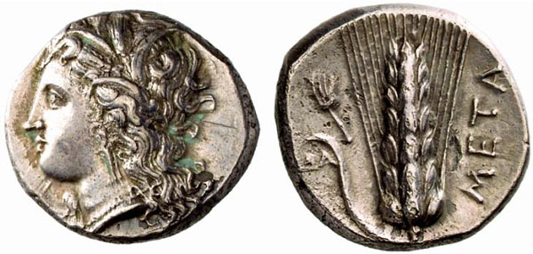 Monnaie Metaponte