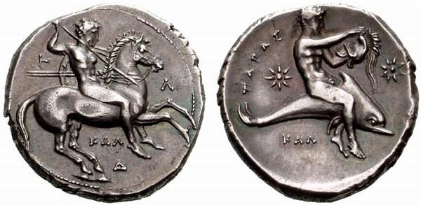 Monnaie Tarente