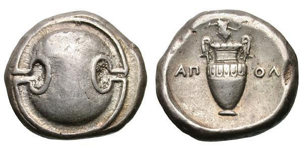 Monnaie Thèbes