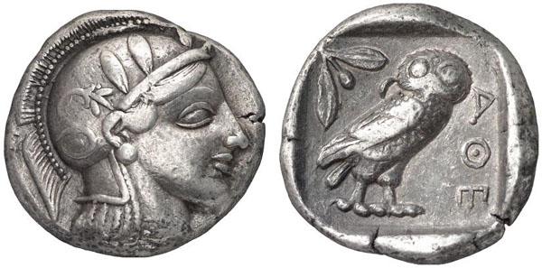 Monnaie Athenes