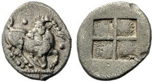 Monnaie Aigai