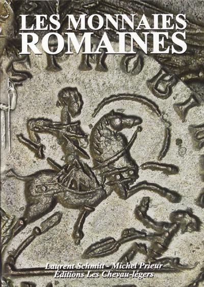 """Couverture du livre """"Les monnaies romaines"""", des éditions Les Chevau-légers"""